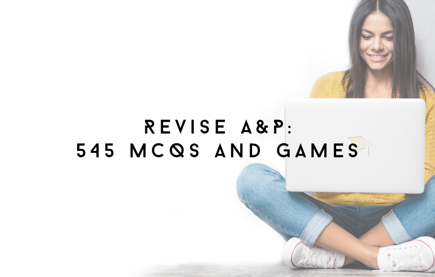 Course Image Revise A&P: 545 MCQs and games